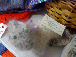 Fair--a cat made of dog hair!