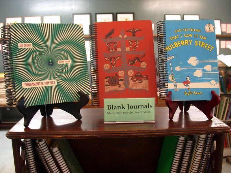 Blank-journals
