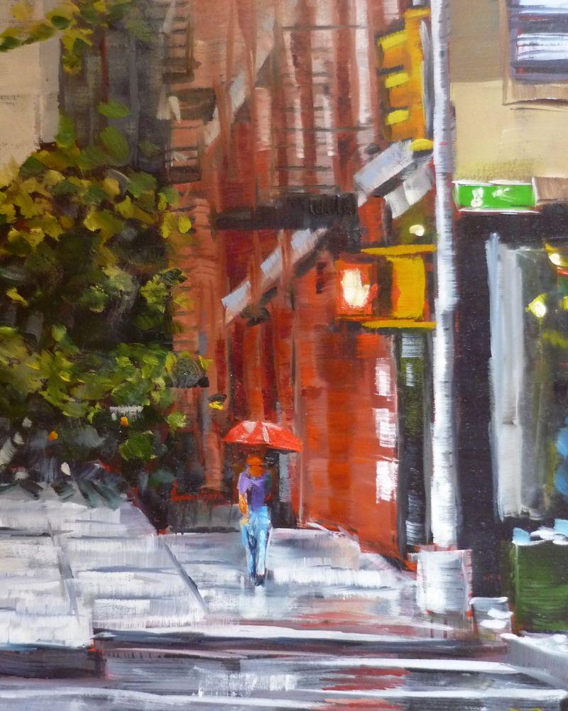 8th Avenue rain