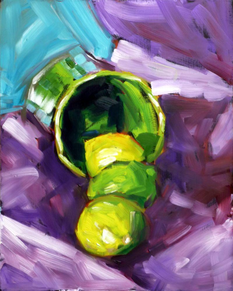 Lime spill