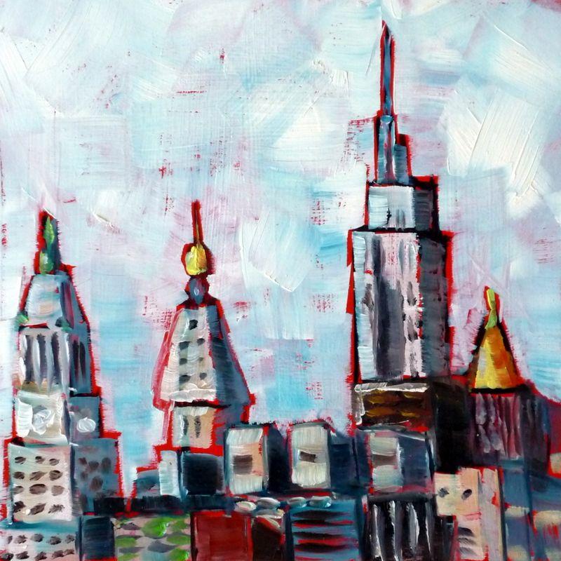 Skyline from East Village