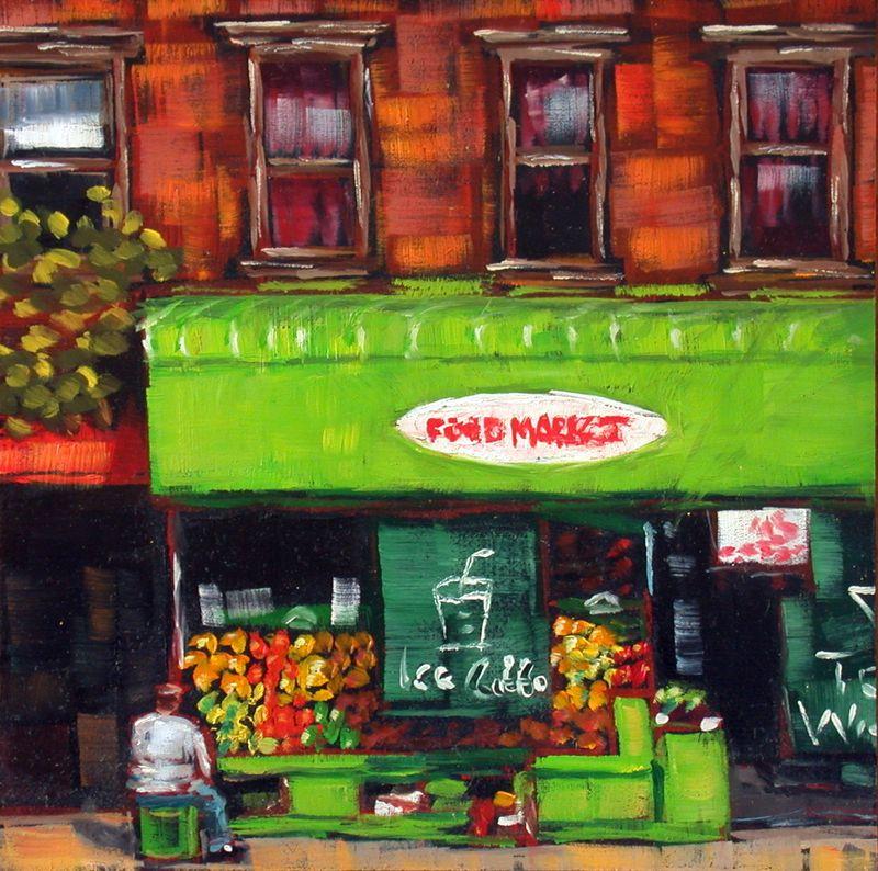 NYC food market