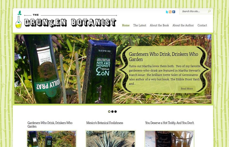 Drunken botanist screen capture